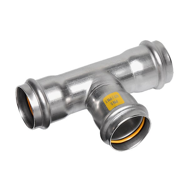 316 Stainless Press Fittings for Gas