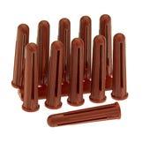 Plastic Expansion Plugs - Red (Pk100)