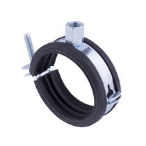 Single Hinge Insulated Pipe Clamp - 20-23mm
