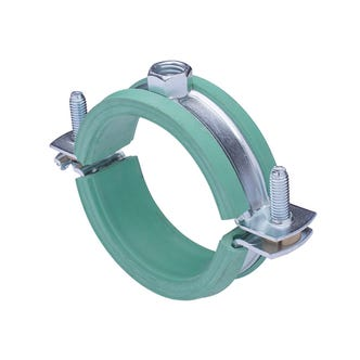 M8/M10 Pipe Clamp for Plastic Pipe - 73-77mm