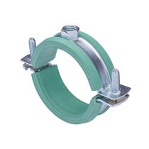 Low Friction Insulated Pipe Clamp - 19-23mm (M8/M10 Boss)