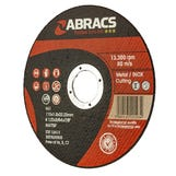 "Flat Metal Cutting Disc - 4½"" (Ultra Thin) 115 x 1.0mm/22B"