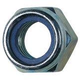 Nylon Insert Nuts - Nyloc - M10 BZP (Pk100)