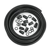Black Contractors pack - 25mm (10m Conduit c/w 10 glands & locknuts)