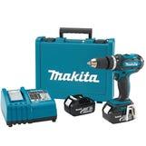 Makita DHP482RFWJ 18v Combi with 2 x 3.0ah batteries