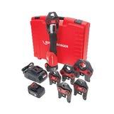 Rothenberger ROMAX3000 Press Kit 18V Li cw TH16,20,26 Jaws