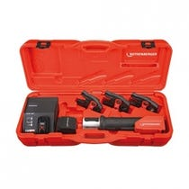 """Rothenberger ROMAX Compact Tool c/w 1/4-1 1/8"""" MaxiPro Jaws, Battery & Charger"""