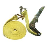 Ratchet Straps - 10m x 50mm C/W Hooks