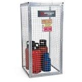 Gorilla Fixed Gas Cage Medium 900x900x1800mm - WxDxH