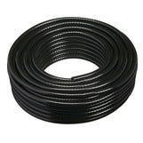 """1/4"""" Black Braided Drain Hose 30m"""