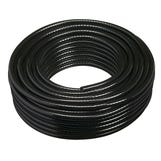 "1/4"" Black Braided Drain Hose 30m"