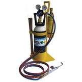 Flame Tech Pro kit inc Mapp, Oxy, Hoses, Torch & Stand etc
