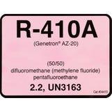 Refrigerant ID Labels R-410a - (Pk10)
