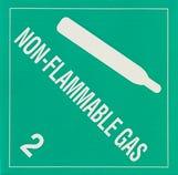 Refrigerant ID Labels (pk 10) Non Flammable Labels