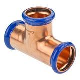 22mm Copper-Press Equal Tee (M-Profile)