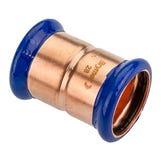 22mm Copper-Press Coupling (M-Profile)