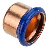 76mm Copper-Press End Cap (M-Profile)