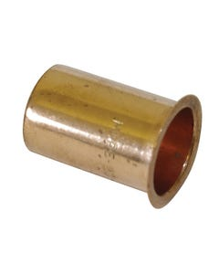 25mm Poly Stopcock Insert / MDPE Pipe Liner - Copper