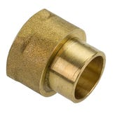"End Feed 22mm  x  3/4"" Female Iron Coupler"