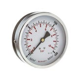 "100mm Pressure Gauge 0-11 Bar 3/8"" Back Connection"
