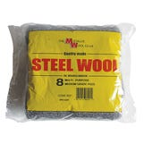 Medium Grade Steel Wool Pads