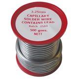 3mm x 1/2Kg Lead Bearing Solder