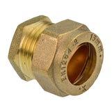 DZR Compression End Cap - 15mm