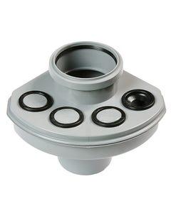 "4""/110mm Soil Manifold Ringseal Grey"
