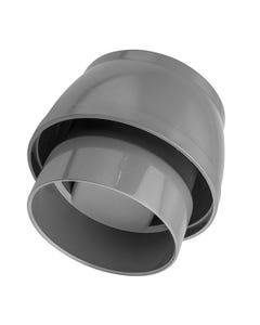 "4""/110mm Air Admittance Valve Solvent Grey"
