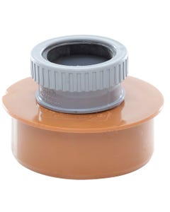 "4""/110mm to 50mm Floor Socket Waste Adaptor"