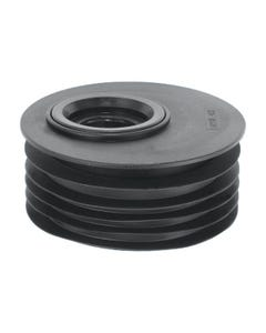 """4""""/110mm Offset Rubber Reducer to 1 1/4""""or 1 1/2"""" Waste Drain"""