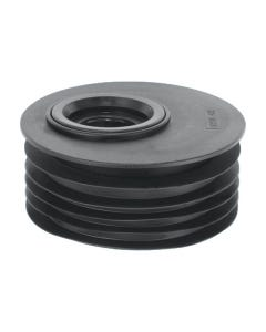 """4""""/110mm Offset Rubber Reducer to 2"""" Waste Drain"""