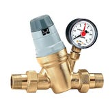 "3/4"" 535H Pressure Reducing Valve - MxM c/w Pressure Gauge"