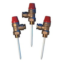 "3/4"" Temp & Pressure Relief Valve - 7 Bar"