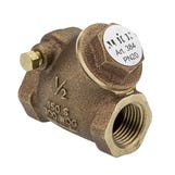 "1/2"" Bronze Swing Check Valve"