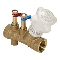 "1/2"" DZR Brass Commissioning Partner Valve - Fixed Orifice"