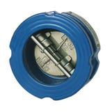"""Cast Iron Dual Plate Wafer Check Valve - 6"""""""