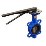 "2 1/2"" Ductile Iron Wafer Butterfly Valve - WRAS"