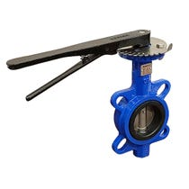 """Wafer Butterfly Valve Ductile Iron WRAS PN16 - 6"""""""