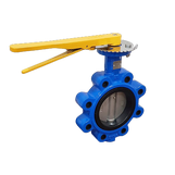 "2"" Ductile Iron Lugged & Tapped Butterfly Valve (Gas)"