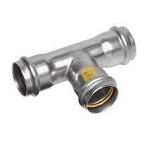 54mm NiroSan Gas Equal Tee