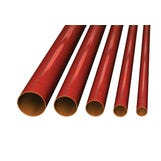 Harmer SML 50mm x 3mt Cast Iron Socketless Drainage Pipe