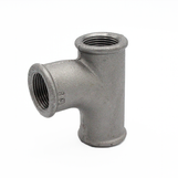 """1 ¼ x ½"""" Pitcher Tee Black Malleable 199/131/E1"""