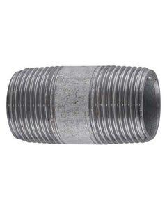 "1 1/4""Heavy Barrel Nipple Black BS EN 10241"