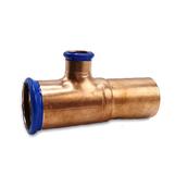 54 x 28 x 54mm Extended Spigot Copper-Press Manifold Tee ExBxE (M-Profile)