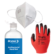Brymec Back-to-Work Site Safety Kit - 1 man