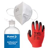 Brymec Back-to-Work Site Safety Kit - 50 man