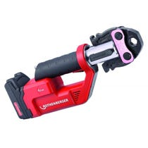 Rothenberger ROMAX Compact TT Machine -1 x 2Ah 18V battery, battery charger and carrying case