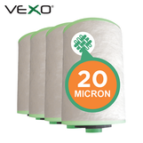 VEXO 20 Micron Cartridge Filter (Pk4)